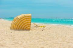 Aruba karibiska öar, Lesser Antilles Arkivfoto