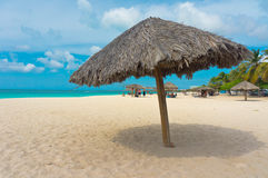 Aruba karibiska öar, Lesser Antilles Arkivbild