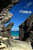 aruba klippor Royaltyfria Foton