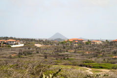 Aruba landscape Royalty Free Stock Photography