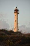 Aruba-Leuchtturm lizenzfreie stockfotos
