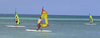 Aruba Na morzu karaibskim Fotografia Royalty Free