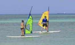 Aruba Na morzu karaibskim Obrazy Stock