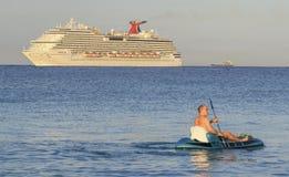Aruba Na morzu karaibskim Fotografia Stock