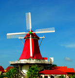 Aruba Old Dutch Windmill Royalty Free Stock Images