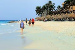 Aruba på det karibiska havet Royaltyfri Foto