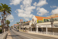 Aruba shopping Stock Images