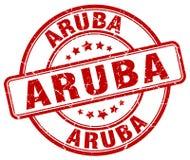 Aruba znaczek royalty ilustracja