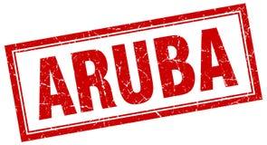 Aruba znaczek ilustracja wektor