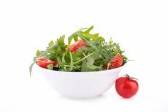 Arugula και ντομάτα Στοκ Εικόνες
