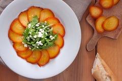 Arugula and Beet Salad Stock Image
