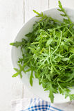 Arugula in a Bowl Stock Photography