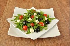 arugula czereśniowi winogron sałatki pomidory Obraz Stock