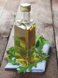 Arugula oil Royalty Free Stock Photo