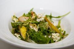 Arugula and Pear Salad Stock Images