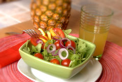 Arugula salad Stock Image