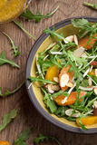 Arugula Salad with Mandarin Vinaigrette Royalty Free Stock Images