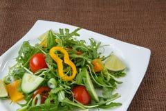 Arugula salad Royalty Free Stock Images