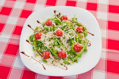 Arugulasalade stock foto's
