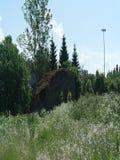 Aruküla glacial erratic Stock Photos