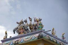 Arulmigu Rajamariamman Devasthanam stock afbeeldingen