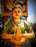 Arulmigu Sri Muthumari Amman Kovil Hindu Temple, Matale, Sri Lanka Stock Photos