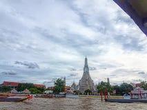 Arun寺庙thailang 免版税库存图片