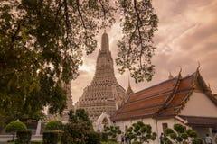 arun曼谷泰国wat 免版税库存图片