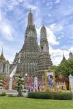 arun Μπανγκόκ Ταϊλάνδη wat Στοκ Εικόνα