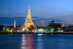 arun ναός Ταϊλάνδη της Μπανγκόκ wat Στοκ Εικόνα