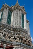 arun Bangkok padoga wat Fotografia Stock