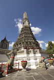 arun Bangkok Thailand wararam wat Zdjęcie Royalty Free