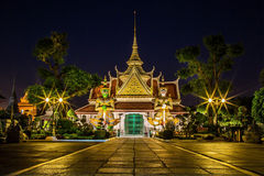 Arun Tempel in Bangkok Stockbild