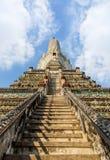 Arun-Tempel Bangkok Thailand Stockfoto