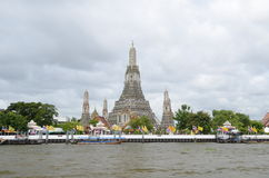 Arun temple in Bangkok Royalty Free Stock Photography