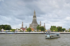 Arun temple in Bangkok Royalty Free Stock Photos