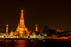 Arun temple, Bangkok,Thailand Stock Photos