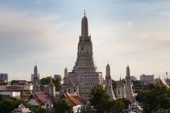 Arun temple religion ancient. Historic landmark of Thailand Stock Image