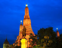 Arun temple at twilight time Stock Photography