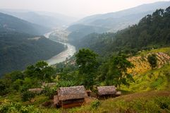 Arun valley - nepal Royalty Free Stock Image