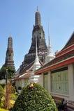 arunbangkok thailand wat Arkivbilder