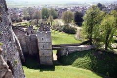 arundel城堡英国中世纪 库存图片