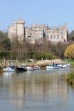 arundel城堡英国 库存照片
