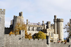 arundel城堡 免版税库存照片