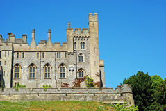 Arundel Castle in Arundel, West Sussex, England Royalty Free Stock Image