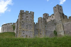 Arundel Castle in Arundel, West Sussex, England Royalty Free Stock Photo