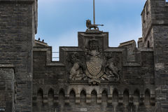 Arundel Castle crest Stock Photo