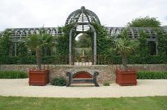Arundel Castle garden in Arundel, West Sussex, England, Europe Royalty Free Stock Photo