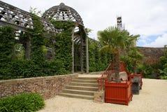 Arundel castle garden entrance in England Stock Photography