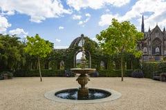 Arundel castle gardens Stock Image